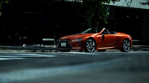 Lexus Car Orange Car Luxury Car Cabriolet 4096x2731 Wallpaper