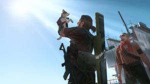 Metal Gear Solid V The Phantom Pain Diamond Dogs Big Boss Naked Snake Dog Video Games Video Game Cha 1920x1080 Wallpaper