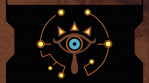 Sheikah Eye The Legend Of Zelda Breath Of The Wild 1920x1080 Wallpaper