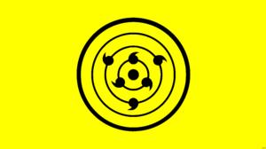 Minimalist Naruto Rinnegan Naruto Yellow 8500x4500 Wallpaper