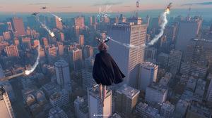 Anime Science Fiction Anime Girls WLOP City Rocket 3192x1316 Wallpaper
