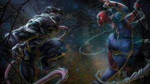 Marvel Comics Spider Man Venom 6600x4952 Wallpaper