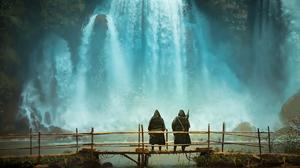 Fantasy Waterfall 1920x1265 Wallpaper