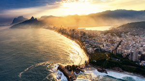 Man Made Rio De Janeiro 7150x4772 Wallpaper