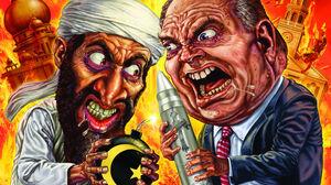 Destruction Horror Terrorist War Weapon 1489x1025 Wallpaper
