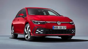 Volkswagen Golf Volkswagen Car Red Car Compact Car 3000x1688 wallpaper