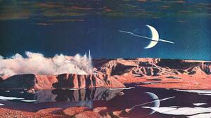 Artwork Painting Science Fiction Space Planet 2382x1340 Wallpaper