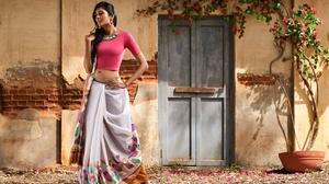 Long Hair Indian Woman Saree 3840x2627 Wallpaper