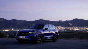Blue Car Car Luxury Car Suv Volkswagen Volkswagen Touareg R Line 3840x2560 Wallpaper