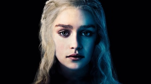 Emilia Clarke Daenerys Targaryen Face 1920x1080 Wallpaper
