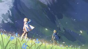 Link Zelda 2000x1233 wallpaper