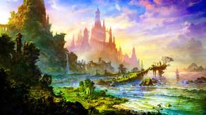 Artistic Landscape 2000x1250 Wallpaper