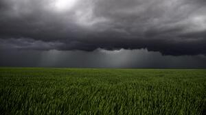 Nature Field Storm Landscape 5472x3078 Wallpaper