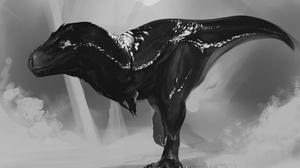 Artistic Dinosaur Tyrannosaurus Rex 2732x2048 Wallpaper