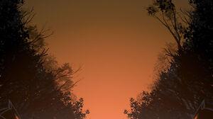 Silhouette Minimalism Yellow 1600x2264 Wallpaper
