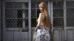 Dress Girl Long Hair Model 2400x1544 Wallpaper