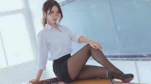 Model Teachers Asian 6720x4480 Wallpaper