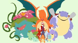 Blastoise Pokemon Bulbasaur Pokemon Charizard Pokemon Charmander Pokemon Charmeleon Pokemon Ivysaur  5443x3061 Wallpaper