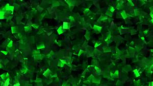 Green Pattern Square 3000x2000 Wallpaper