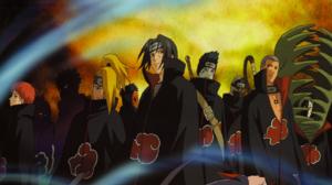 Itachi Uchiha Sasori Naruto Pain Naruto Deidara Naruto Obito Uchiha Konan Naruto Kisame Hoshigaki Hi 1600x900 Wallpaper