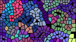 Artistic Colorful Mosaic 1920x1080 Wallpaper