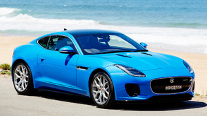 Blue Car Car Coupe Jaguar F Type Coupe R Dynamic Luxury Car Sport Car 1920x1080 Wallpaper