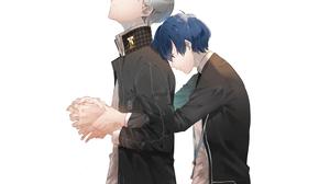 Anime Minato Arisato Persona 3 Persona 4 Video Game Yu Narukami 3840x2160 wallpaper