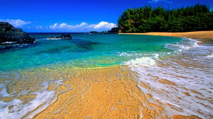 Beach Earth Hawaii Horizon Ocean Sea 2000x1333 wallpaper