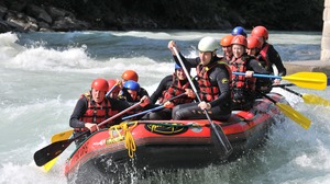 Boat Outdoor People Raft Sport White Water Rafting 4288x2848 Wallpaper