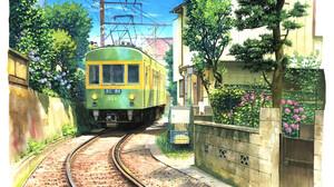 Artwork Digital Art City Train 1920x1335 Wallpaper