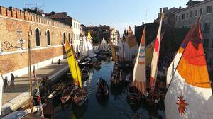 Venice Sailboats Italy 3968x2976 Wallpaper