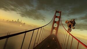 Golden Gate Motorcycle San Francisco Watch Dogs 2 1920x1080 Wallpaper