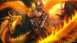 Dragon Monk 1920x1080 Wallpaper
