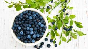 Berry Blueberry Fruit 3594x2573 wallpaper