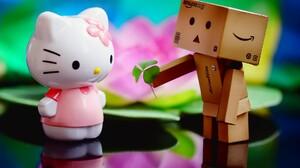 Danbo Hello Kitty Valentine 039 S Day 1920x1200 Wallpaper