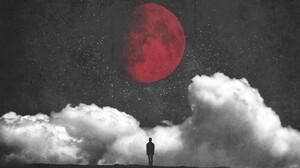 Man Moon 2048x1365 Wallpaper