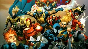 Black Widow Doctor Strange Iron Fist Iron Man Ms Marvel Spider Man Spider Woman Wasp Marvel Comics 2560x1716 Wallpaper