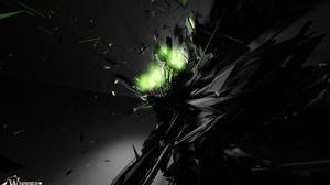 Abstract Cgi Dark Destruction Energy Explosion 1680x1050 Wallpaper