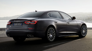 Black Car Car Full Size Car Luxury Car Maserati Quattroporte Gts Sports Sedan 1920x1080 wallpaper