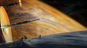 Artwork Science Fiction Space Astronaut 1920x818 Wallpaper