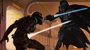 Darth Vader 5120x2561 wallpaper