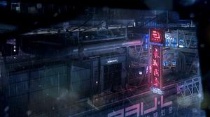Sci Fi Cyberpunk 2160x1080 Wallpaper