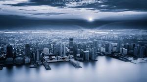 City 3000x2003 Wallpaper
