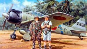 World War Ii Airplane Soldier Asian Warplanes Military Military Aircraft Aircraft Vehicle Military V 1280x877 Wallpaper