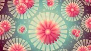 Digital Art Flower Pattern 6000x4000 Wallpaper