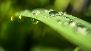 Earth Water Drop 3840x2160 Wallpaper