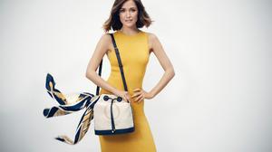 Actress Australian Brunette Rose Byrne Yellow Dress 2158x1440 wallpaper