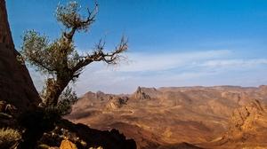 Africa Algeria Desert Hoggar Mountains Landscape Mountain Rock Sahara Stone Tassili N 039 Ajjer 3472x2315 Wallpaper
