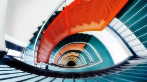 Man Made Stairs 1920x1200 Wallpaper