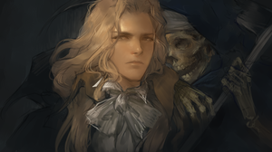 Castlevania Death Castlevania Symphony Of The Night Alucard Tepes Video Game Art Nat The Lich 1500x1061 Wallpaper